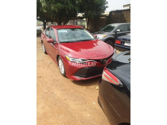2019 Toyota Camry Red