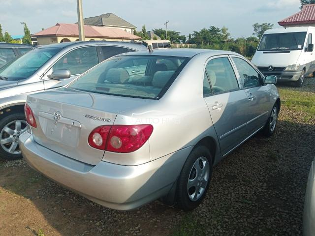 2006 model Corolla CE.