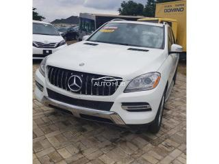2012 Mercedes Ml350 White