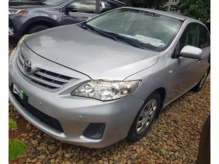 2013 Toyota Corolla Silver