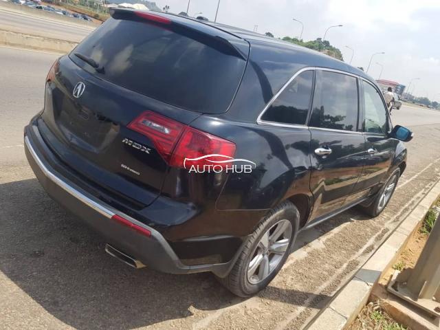 2012 Acura Mdx Black