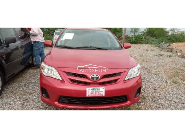 2013 Toyota  Corolla Red