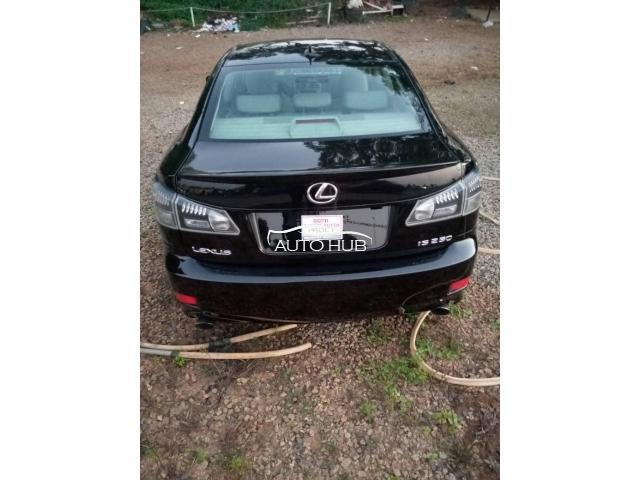2008 Lexus IS250 Black