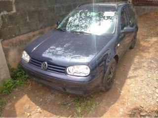 2000 Volkswagen Golf Blue