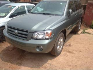 2006 Toyita Highlander Green