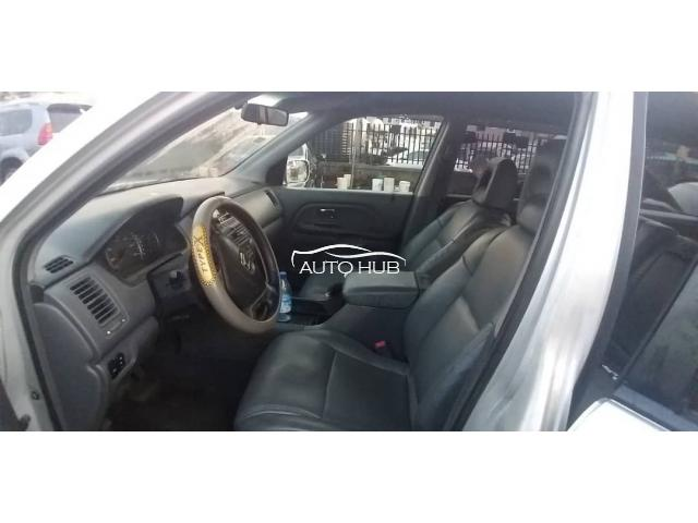2005 Honda Pilot Silver