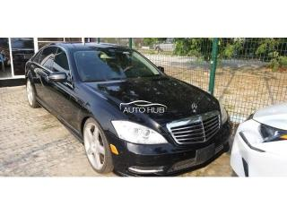 2010 Mercedes Benz S550 Black