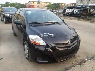 2008 Toyota Yaris Black