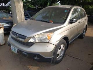2008 Honda CRV Gray