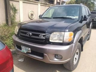 2005 Toyota Sequoia Black