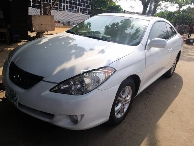 2005 Toyota Solara White
