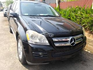 2008 Mercedes Benz GL 450 Black