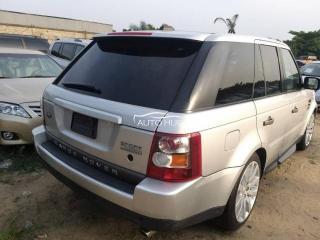 2005 Range Rover Sport Silver