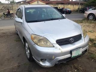 2007 Toyota Matrix Silver