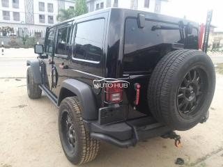 2013 Jeep Wrangler Black