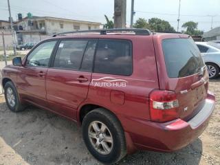 2004 Toyota Highlander Red