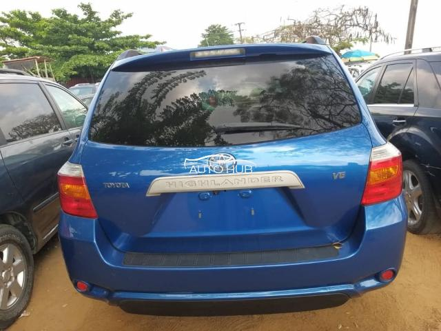 2008 Toyota Highlander Blue
