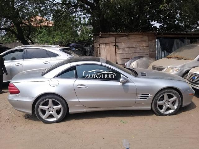 2009 Mercedes SL 500 Silver