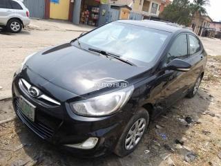 2014 Hyundai Accent Black