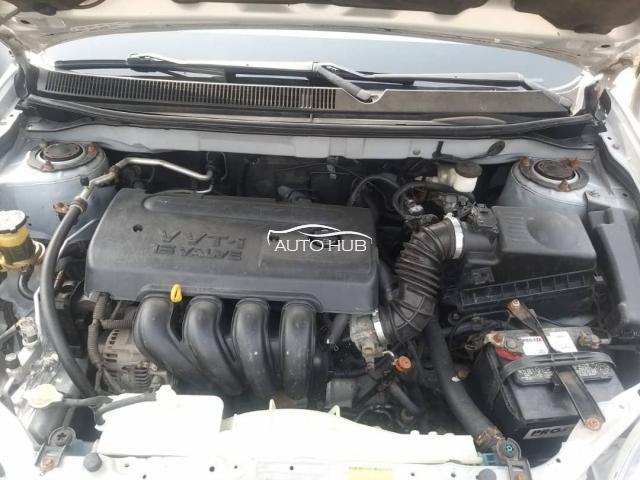 2008 Toyota Matrix Silver