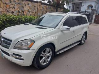 2011 Mercedes Benz GL450 White