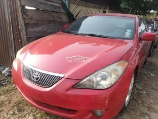 2007 Toyota Solara Red