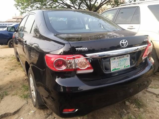 2012 Toyota Corolla Black