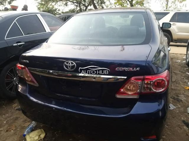 2010 Toyota Corolla Blue