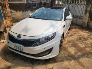 2012 Kia Optima White