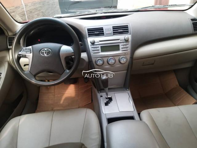 2010 Toyota Camry Red