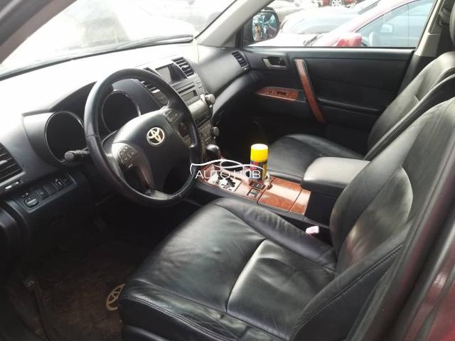 2012 Toyota Highlander Gray