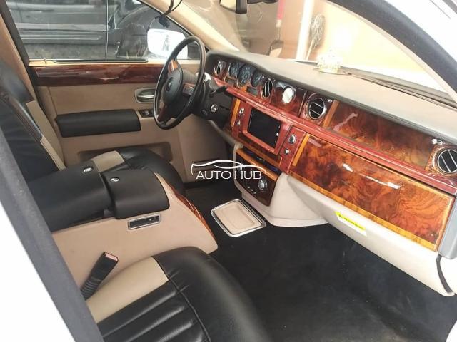 2005 phantom Rolls Royce White