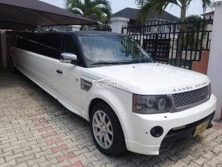 2006 Range Rover Limousine White
