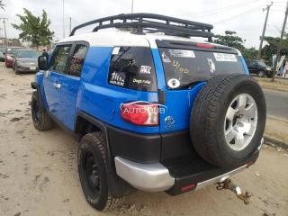 2008 Toyota FJ Cruiser Blue