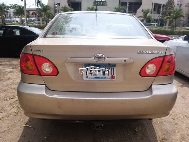 2004 Toyota Corolla Gold