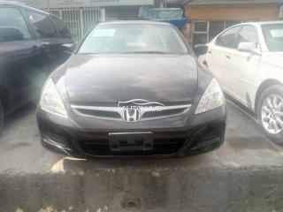 2007 Honda Accord Black