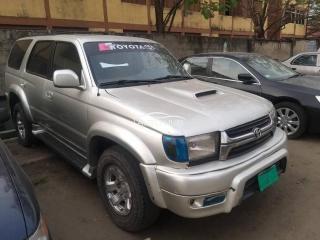 2000 Toyota 4 Runner Silver