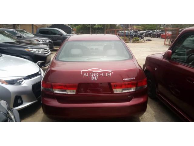 2004 Honda Accord Red