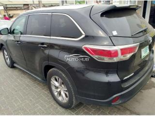 2014 Toyota Highlander Black