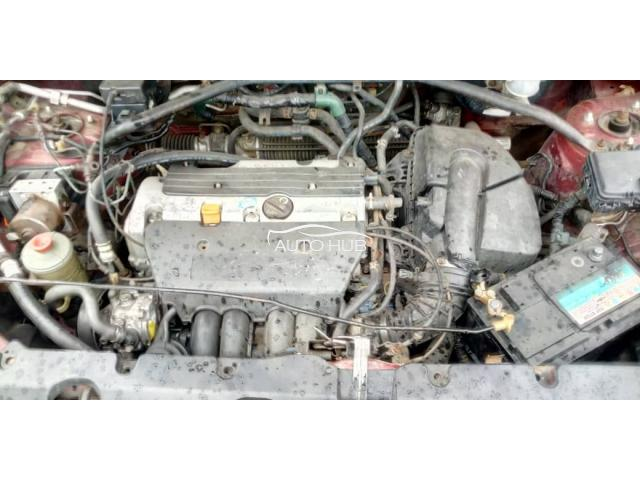 2002 Honda CR-V Red