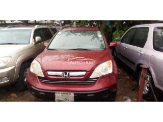 2007 Honda CR-V Red