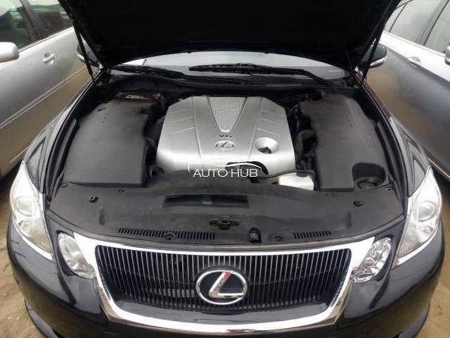2008 Lexus GS350 AWD Black