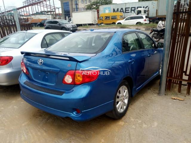 2009 Toyota Corolla Sport Blue