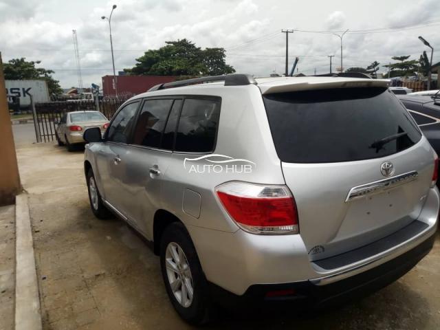 2013 Toyota Highlander Limited 4WD Silver