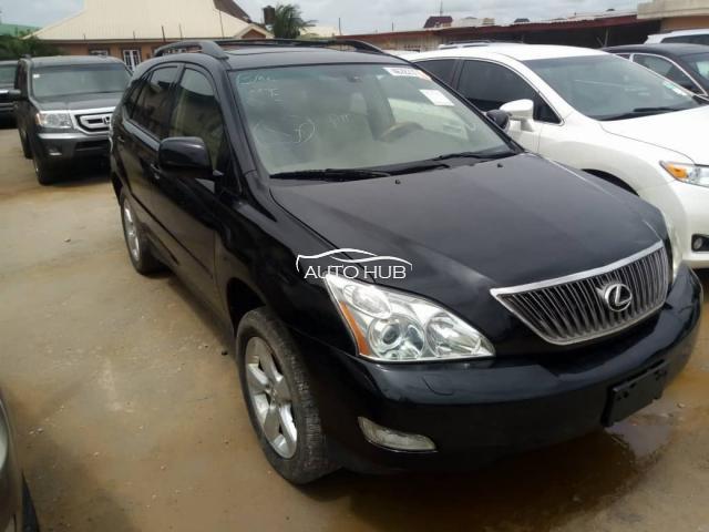 2004 Lexus RX330 Black