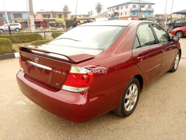 2006 Toyota Camry Red