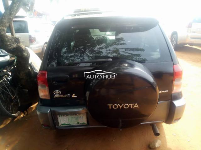 2001 Toyota Rav4  L 4WD Black