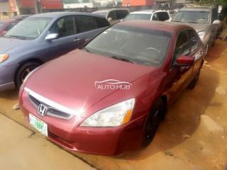 2004 Honda Accord Red