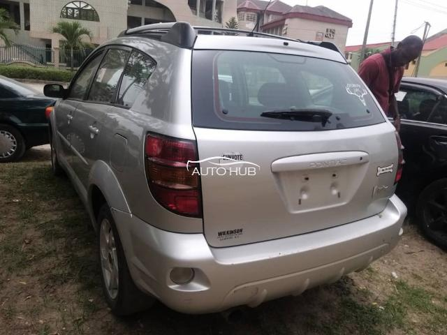 2004 Toyota Vibe Silver
