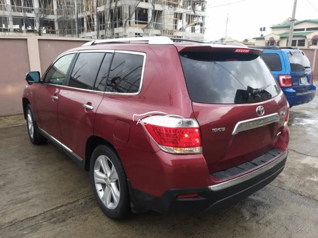2012 Toyota Highlander Red